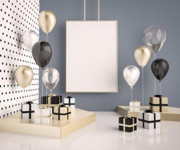 Réussir une décoration d'anniversaire